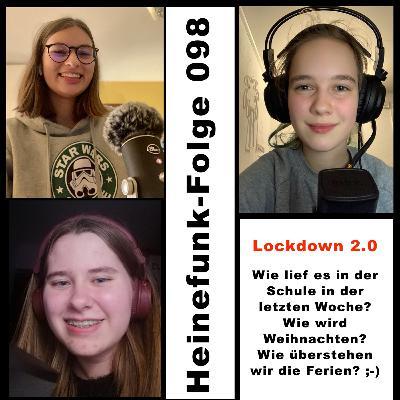 Heinefunk-Folge 098: Lockdown 2.0 - Wie lief es in der Schule in der letzten Woche? Wie wird Weihnachten? Wie überstehen wir die Ferien? ;-)