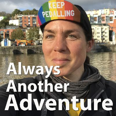 34. Emily Chappell. Self-supported ultra-distance cycle racing