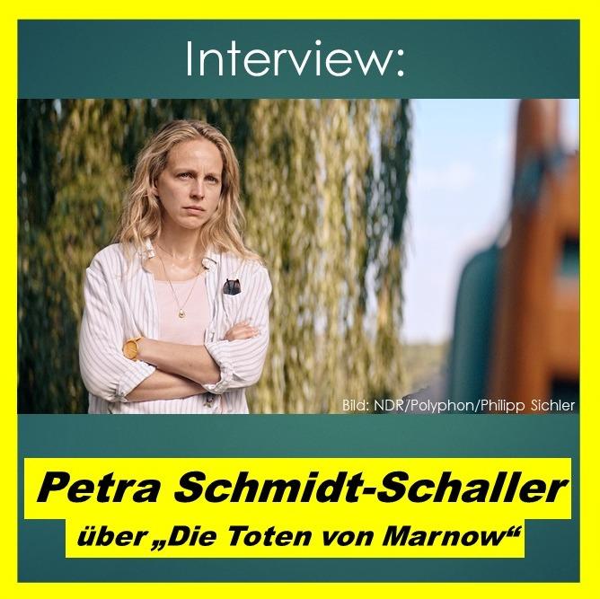 """Petra Schmidt-Schaller über """"Die Toten von Marnow"""" - Interview"""