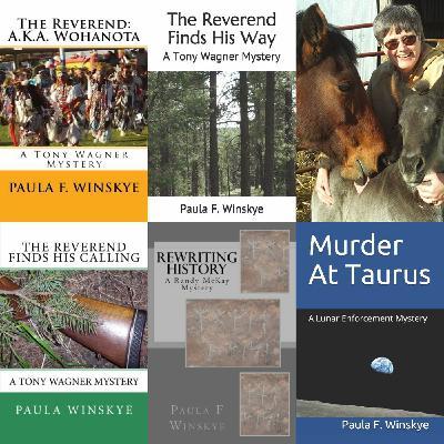 Mystery Author Paula F. Winskye on Big Blend Radio