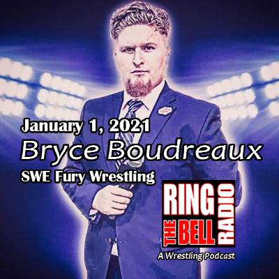 Ring Announcer Bryce Boudreaux - 1/1/21