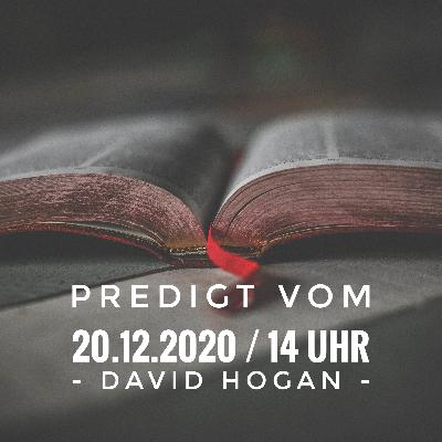 DAVID HOGAN - 20.12.2020 / 14 Uhr