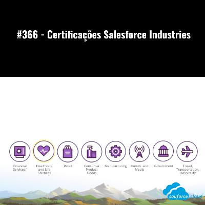 #366 - Certificações Salesforce Industries