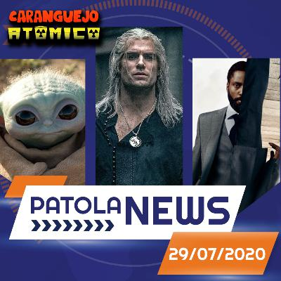 PATOLA NEWS 29/07/2020 | The Boys, Emmy 2020, The Witcher, TENET e Disney+