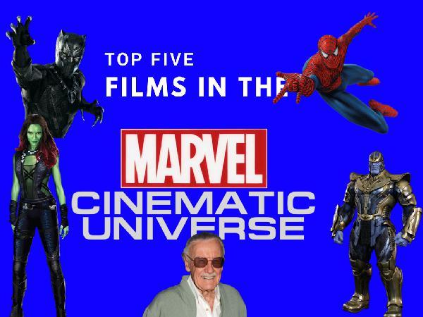 Top Five Films In The MCU