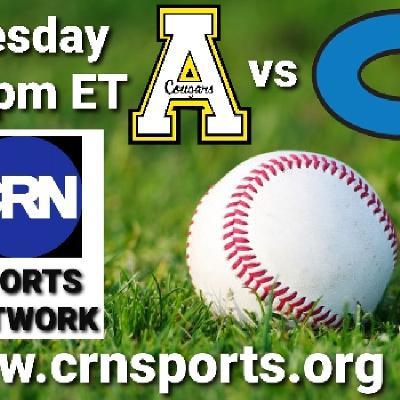 CRN Sports Coverage of NCHSAA Non-Conference Baseball Apex Cougars vs Clayton Comets! #CRNSports #cometsALLin ⚾️🎙☄