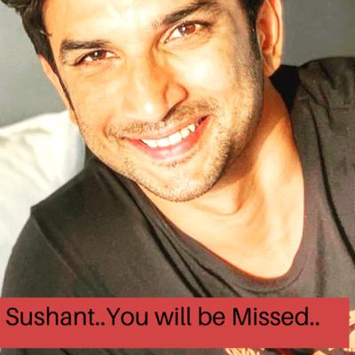 Goodbye Sushant..