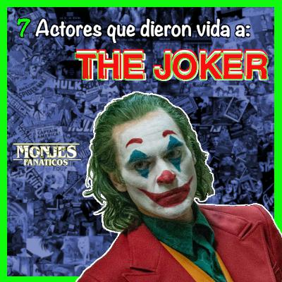 130. 7 ACTORES que han interpretado a THE JOKER 😈 en las películas o la TV.
