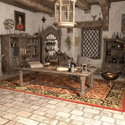 The Mysterious Magical Mansion: The Wizard's Workshop