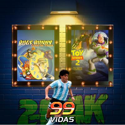 99Vidas 441 - 2-Pak: Bugs Bunny: Lost in Time e Toy Story 2
