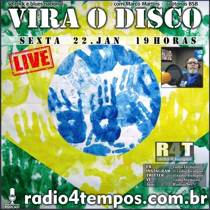 Rádio 4 Tempos - Vira o Disco 84:Marco Martins