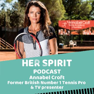 Former British No. 1 professional tennis player and TV presenter Annabel Croft talks to Annie and Louise about life on the tennis circuit growing up, retiring in her early twenties and moving into TV and the importance of being active and eating well.