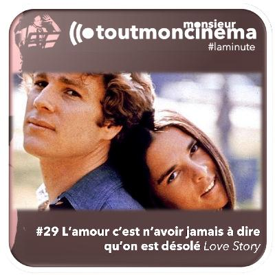 #29 L'amour c'est n'avoir jamais à dire qu'on est désolé (Love Story)