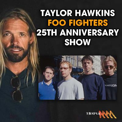 """""""I can't believe we kept it together"""" - Taylor Hawkins on 25 years of Foo Fighters."""