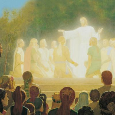 """Come Follow Me BofM Podcast 39, """"Behold, My Joy is Full"""" -- 3 Nephi 17-19"""