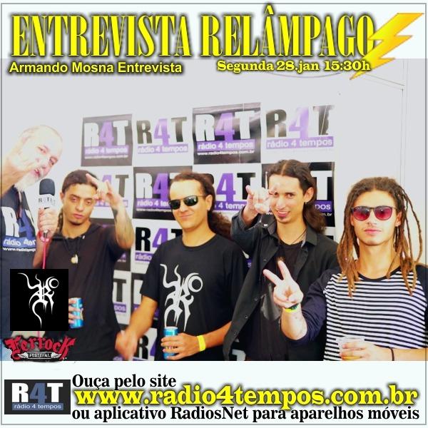 Rádio 4 Tempos - Entrevista Relâmpago 69