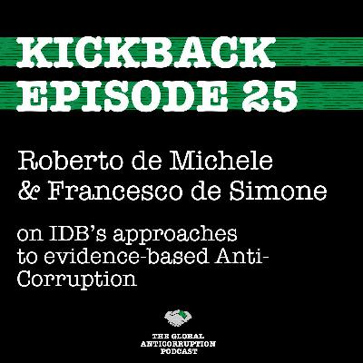 25. Roberto de Michele & Francesco De Simone on IDB's approaches to evidence-based Anti- Corruption
