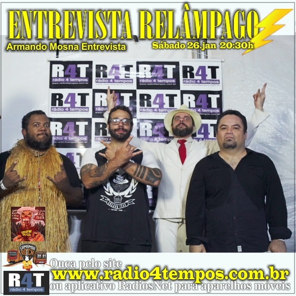 Rádio 4 Tempos - Entrevista Relâmpago 46