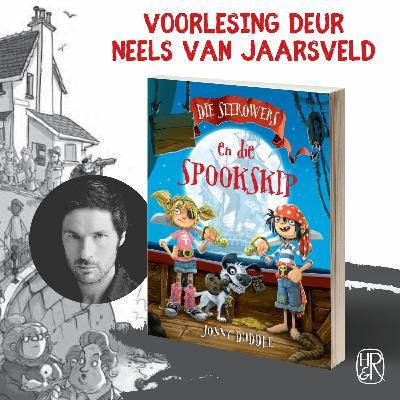 Neels Van Jaarsveld lees voor uit Die seerowers en die spookskip