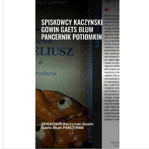 SPISKOWCY Kaczynski Gowin Gaets PANCERNIK POTIOMKIN BRAUNA M70 iskra FO von Stefan Kosiewski SSetKh KenFM 4. Mai 2020 Merkel Kaputt Melinda 20200509 DEVYATOV