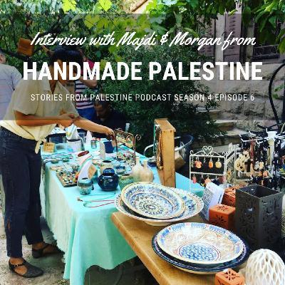 Handmade Palestine supports fair trade artisans in Palestine