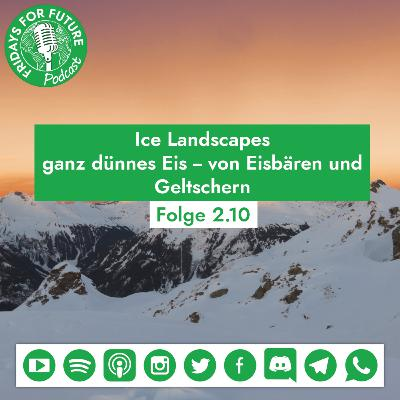 2.10 Ice Landscapes: Von Eisbären und Gletschern #Week4Climate