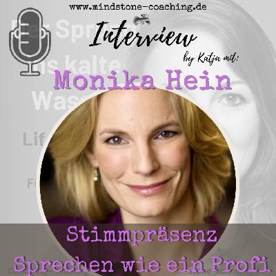 STIMMPRÄSENZ - SPRECHEN WIE EIN PROFI I Interview mit Monika Hein