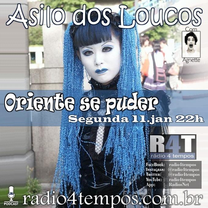 Rádio 4 Tempos - Asilo dos Loucos 239:Agnette