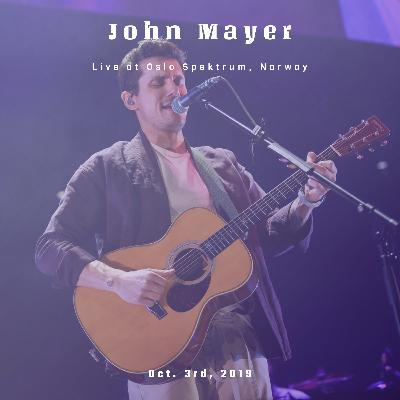 John Mayer Live at Oslo Spektrum, Norway on October 3rd, 2019.