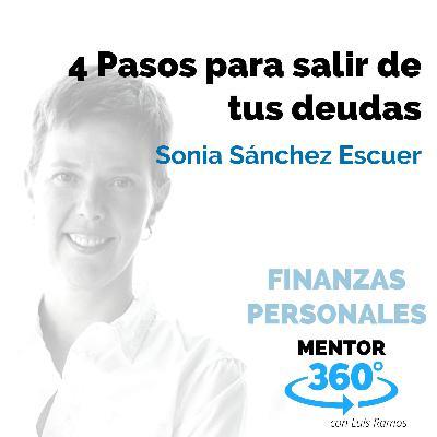 4 Pasos para salir de tus deudas, con Sonia Sánchez Escuer - FINANZAS PERSONALES - MENTOR360