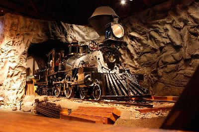 California State Railroad Museum and the First Train Across America