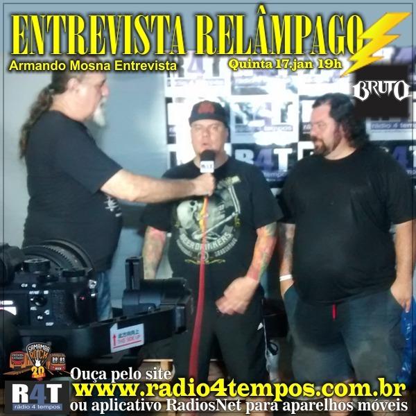 Rádio 4 Tempos - Entrevista Relâmpago 41
