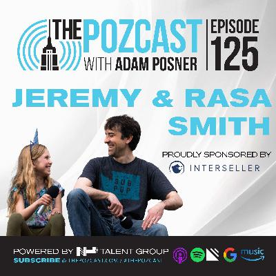 Jeremy & Rasa Smith with special co-host Nina & Posner: Father & Daughter Podcasting Magic!
