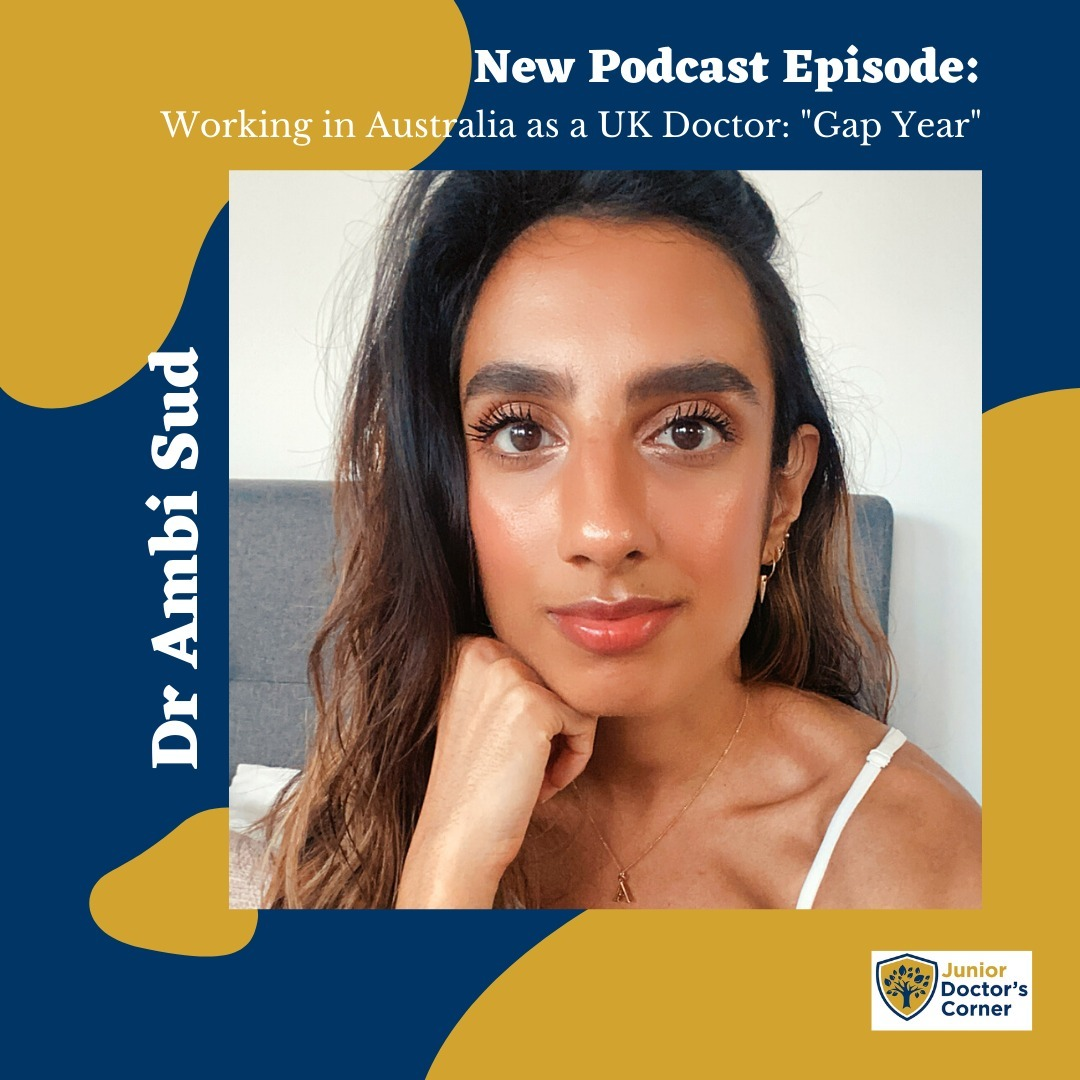 "#44 Working in Australia as a UK doctor : ""Gap Year"""