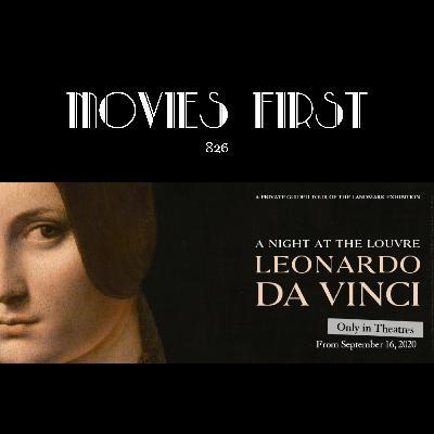 A Night At The Louvre: Leonardo Da Vinci(Documentary)(the @MoviesFirst review)
