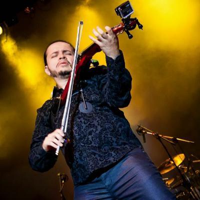 David Rivera Metal Violinist  on Musician Today Podcast!!!