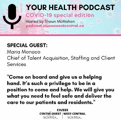 COVID-19 - Maria Monaco - E079 - Your Health Podcast