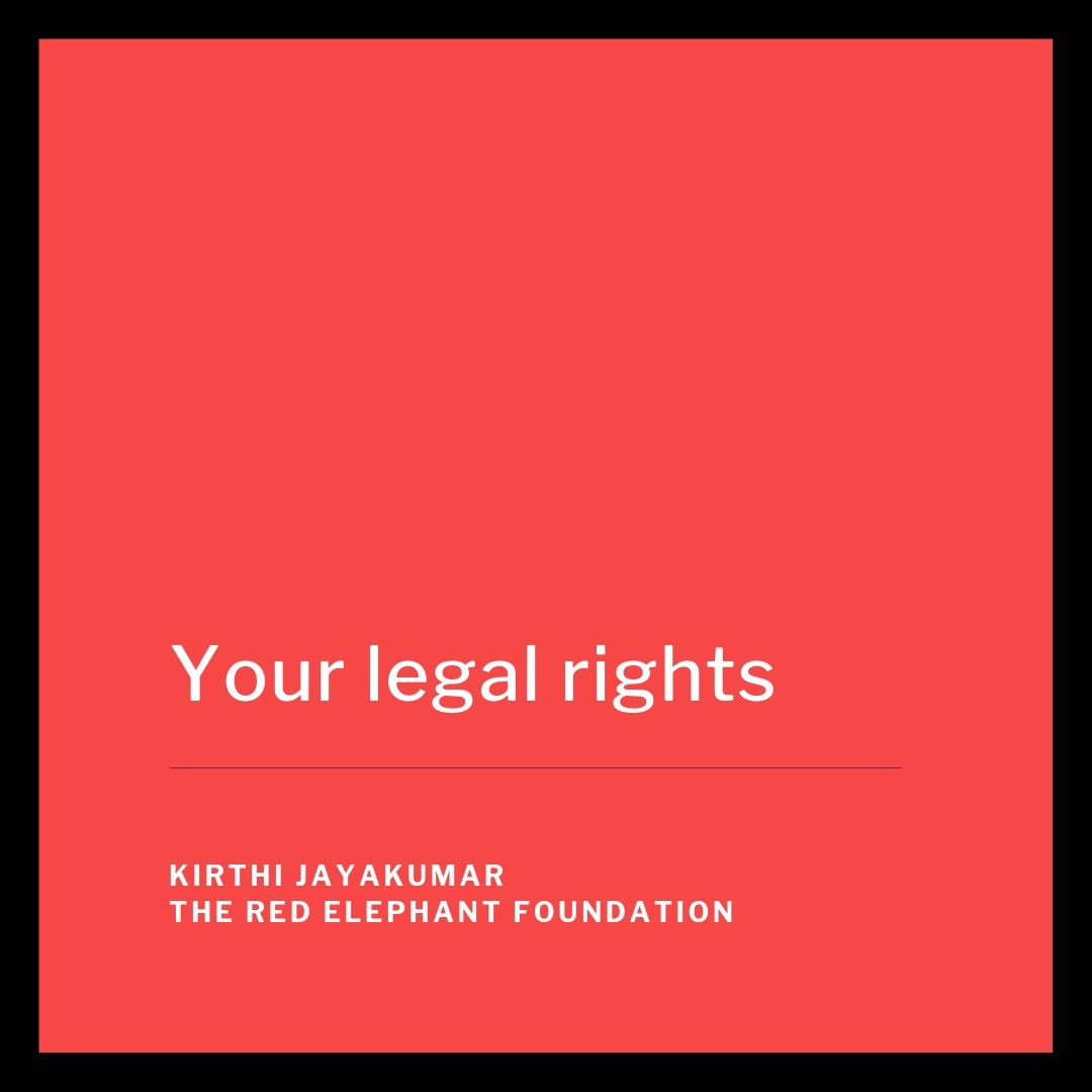 Episode 21 - Your legal rights