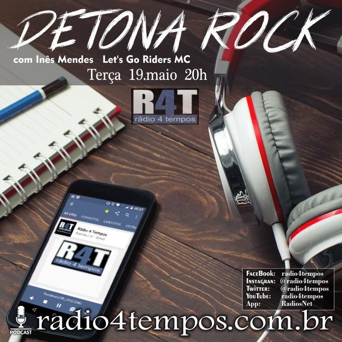 Rádio 4 Tempos - Detona Rock 33:Rádio 4 Tempos