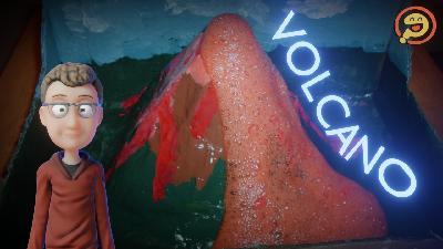 Episode 114: Full-Sized Vinegar Baking Soda Volcano? - Science Fair Grab Bag