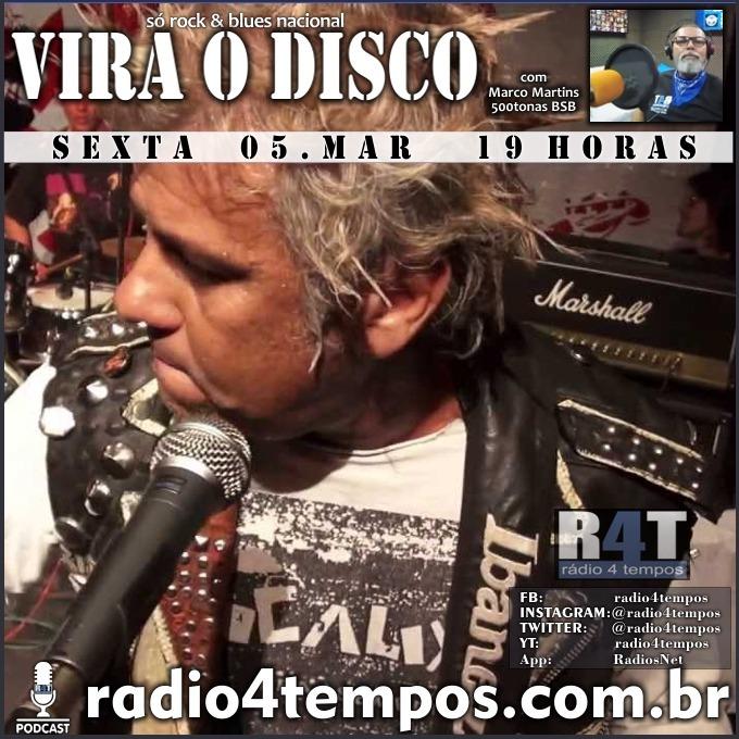 Rádio 4 Tempos - Vira o Disco 88:Marco Martins