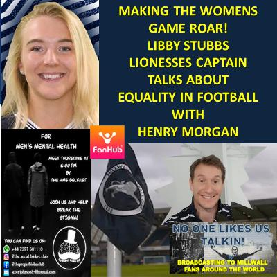 Making The Womens Game Roar - Lionesses captain, Libby Stubbs talks with Henry Morgan 151120