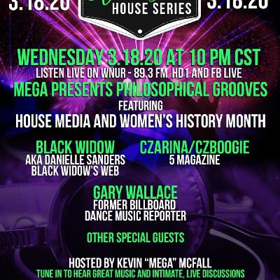 Kevin McFall shares the stories of #HouseMusic Media w/Black Widow/CZ Boogie and Gary Wallace