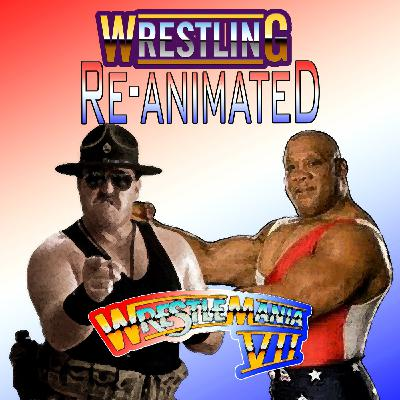 Mr USA vs Sgt Slaughter WWF WrestleMania 7