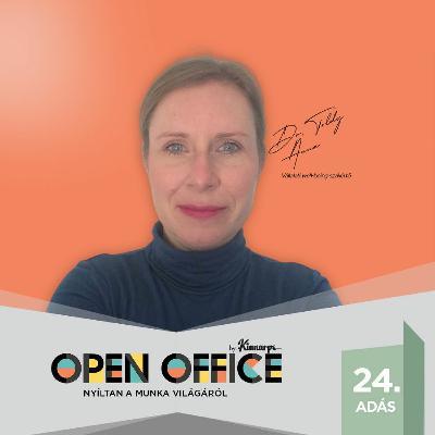 24. Túl fáradtak vagyunk-e a Well-being-hez?   Open Office Podcast