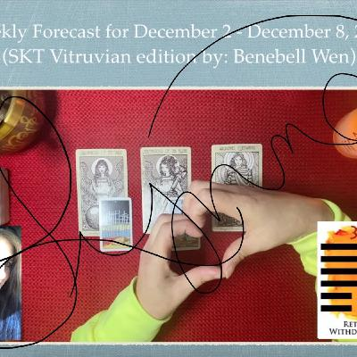 Weekly Forecast for December 2 - 8, 2019
