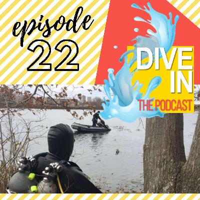 "Episode 22- ""Our Crime Scene Is Underwater"" with guest Sgt Mark Bishop"