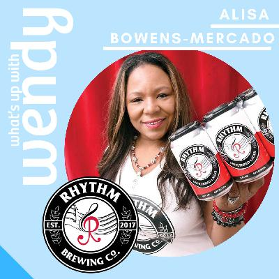 Alisa Bowens-Mercado, Founder, CEO, and Brew-master of Rhythm Brewing Co.