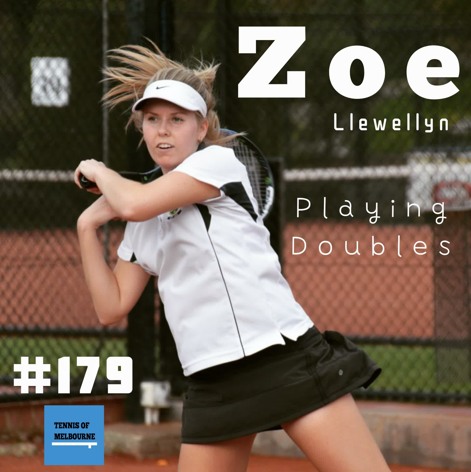 #179 Zoe Llewellyn | Playing Doubles