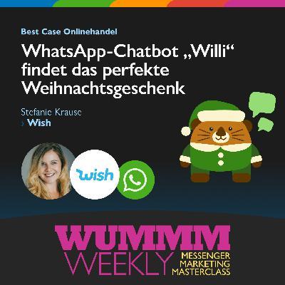 Stefanie Kunze - Wie kurbelt der Wish WhatsApp Chatbot Euer Weihnachtsgeschäft an?